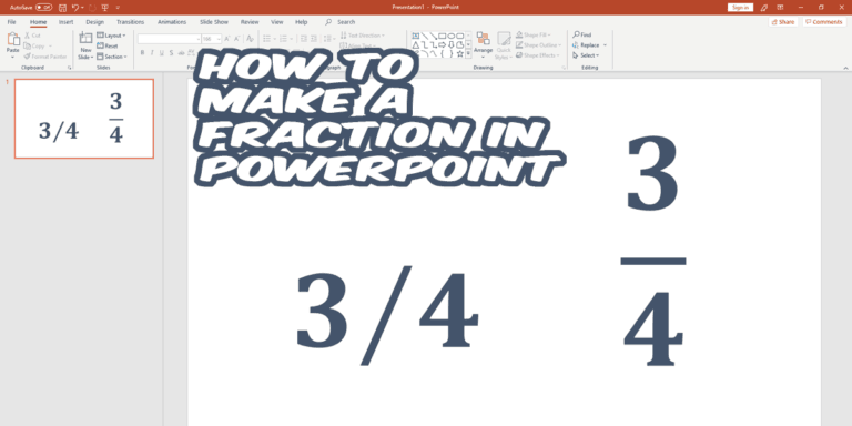 How-to-Make-a-Fraction-in-PowerPoint