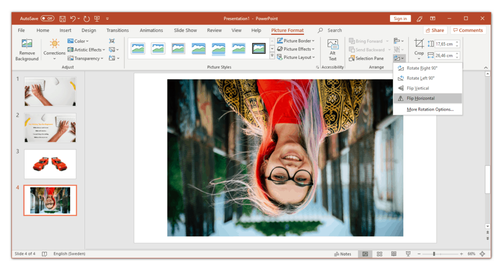 flip-photo-in-powerpoint-vertically