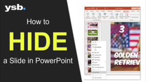 how to hide a slide in powerpoint featured image
