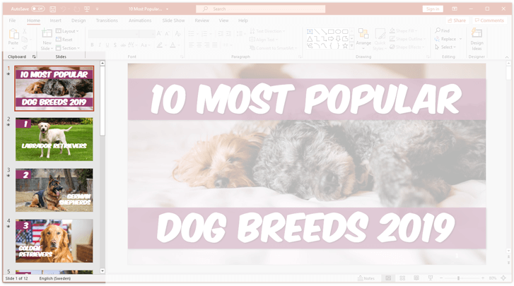 Hot to hide a slide in powerpoint