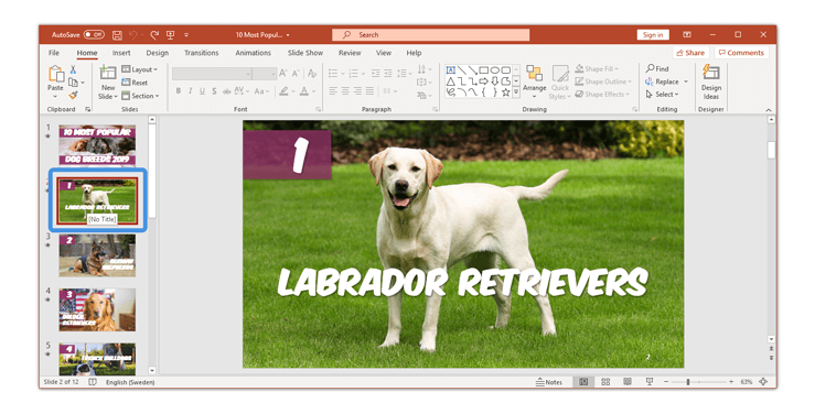 How to delete a slide in PowerPoint a single slide